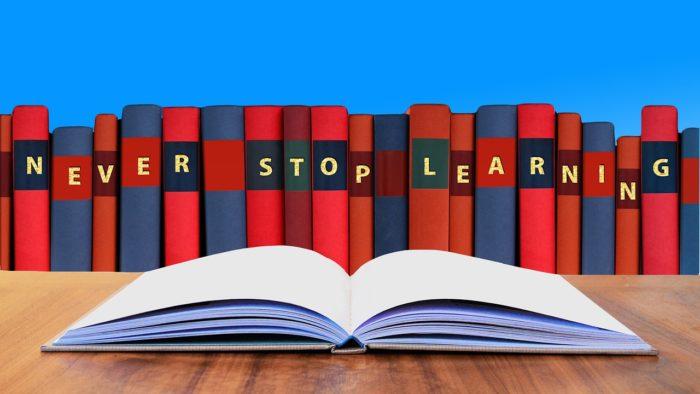 Nikdy se nepřestávejte učit