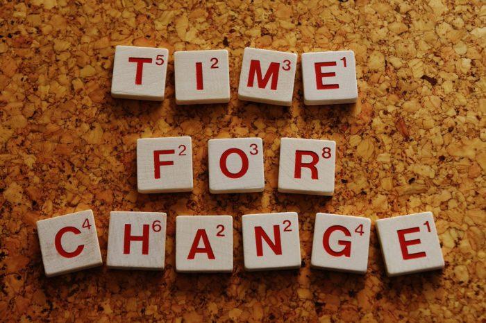 Je čas na změnu?